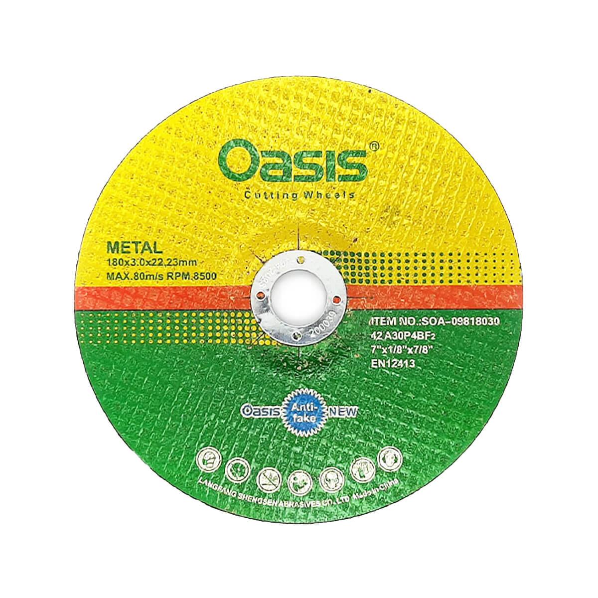 صفحه آهن بر Oasis