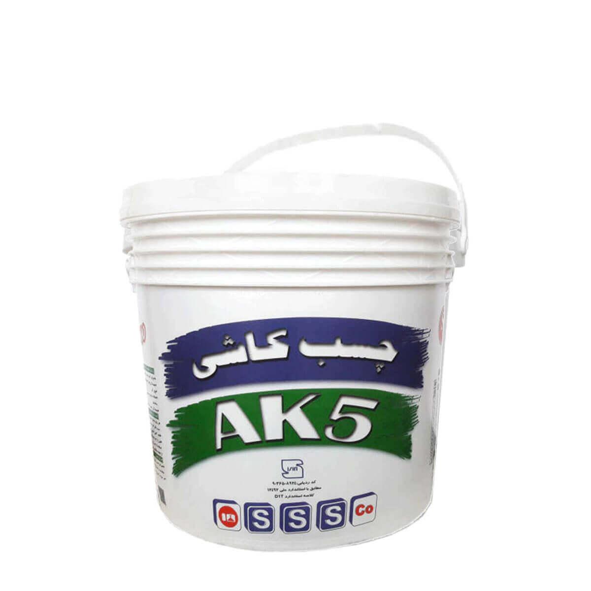 چسب کاشی شیمی ساختمان AK5 خمیری