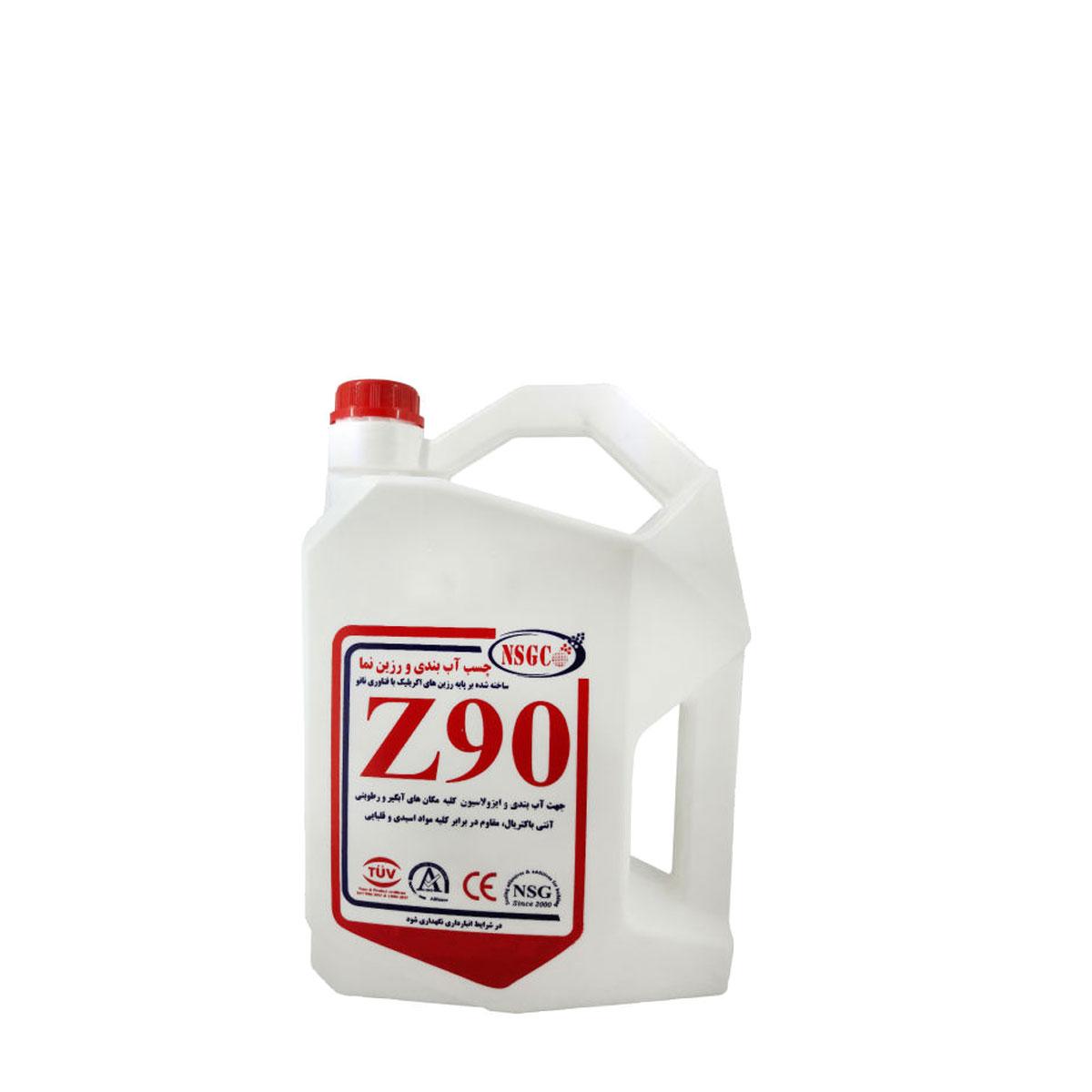 عایق رطوبت و آب بندی نانو Z90